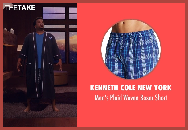 Kenneth Cole New York short from Hot Tub Time Machine 2 seen with Craig Robinson (Nick)