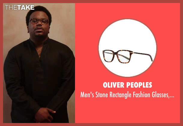Oliver Peoples tortoise from Hot Tub Time Machine 2 seen with Craig Robinson (Nick)