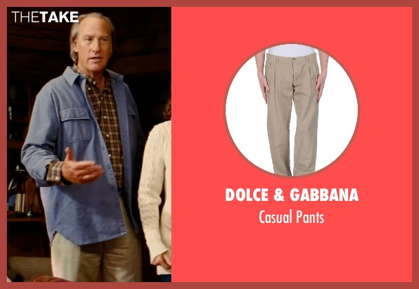 Dolce & Gabbana beige pants from The Proposal seen with Craig T. Nelson (Joe Paxton)