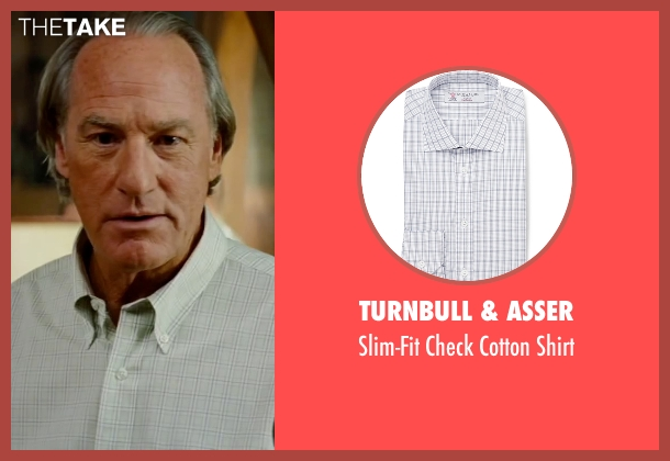 Turnbull & Asser white shirt from The Proposal seen with Craig T. Nelson (Joe Paxton)