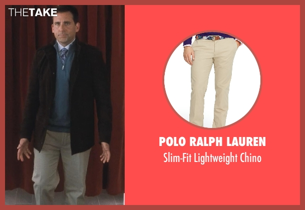 Polo Ralph Lauren beige chino from Crazy, Stupid, Love.