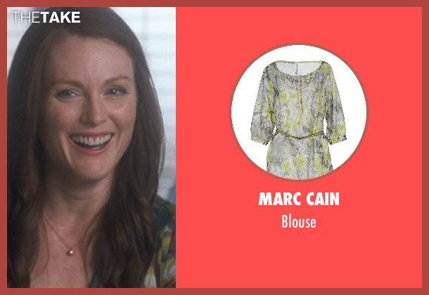 Marc Cain blouse from Crazy, Stupid, Love.