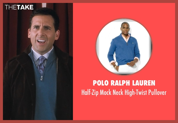 Polo Ralph Lauren blue pullover from Crazy, Stupid, Love.