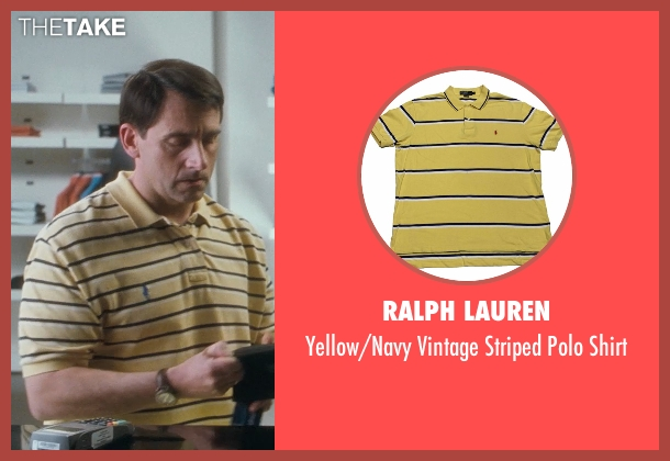 Ralph Lauren yellow shirt from Crazy, Stupid, Love.