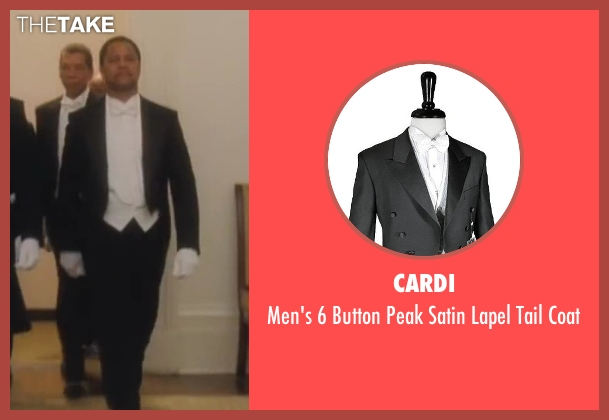 Cardi black coat from Lee Daniels' The Butler seen with Cuba Gooding Jr. (Carter Wilson)