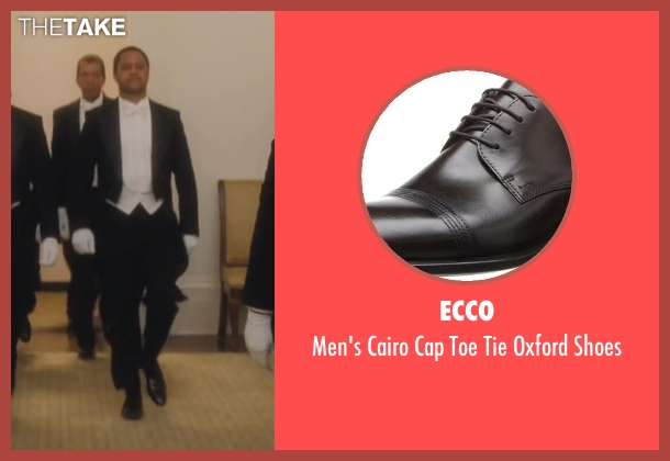 Ecco black shoes from Lee Daniels' The Butler seen with Cuba Gooding Jr. (Carter Wilson)