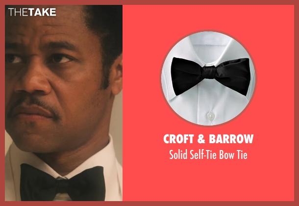 Croft & Barrow black tie from Lee Daniels' The Butler seen with Cuba Gooding Jr. (Carter Wilson)