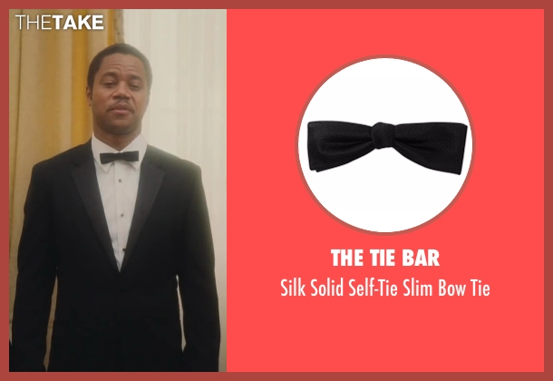 The Tie Bar black tie from Lee Daniels' The Butler seen with Cuba Gooding Jr. (Carter Wilson)
