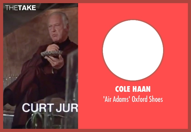 Cole Haan black shoes from The Spy Who Loved Me seen with Curd Jürgens (Karl Stromberg)