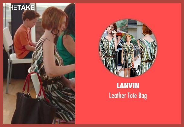 Lanvin black bag from Sex and the City 2 seen with Cynthia Nixon (Miranda Hobbes)