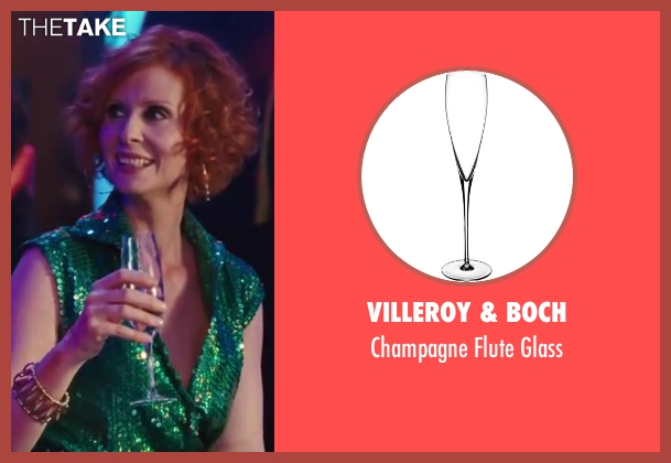 Villeroy & Boch glass from Sex and the City 2 seen with Cynthia Nixon (Miranda Hobbes)