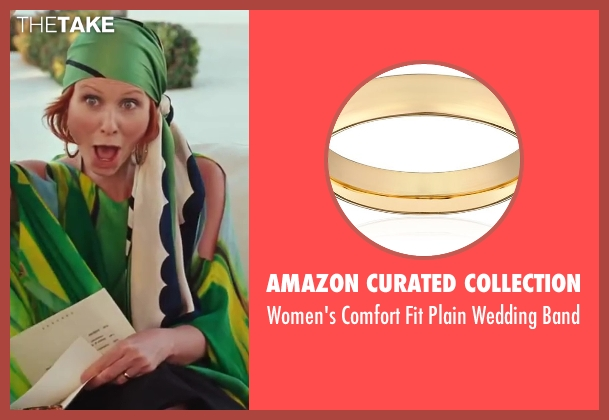 Amazon Curated Collection gold band from Sex and the City 2 seen with Cynthia Nixon (Miranda Hobbes)