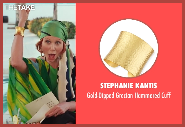 Stephanie Kantis	 gold cuff from Sex and the City 2 seen with Cynthia Nixon (Miranda Hobbes)