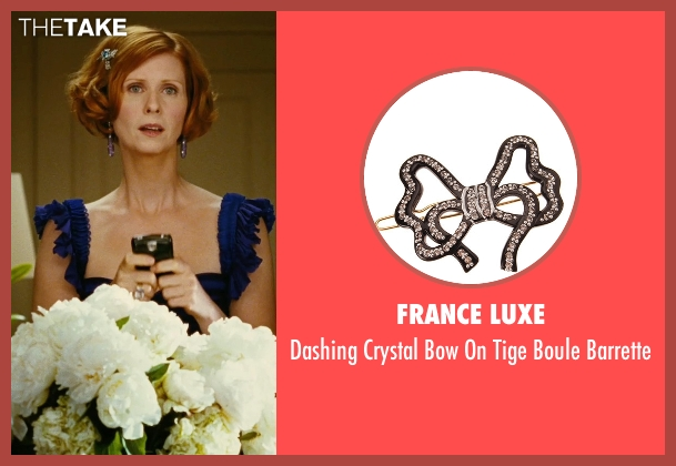 France Luxe barrette from Sex and the City seen with Cynthia Nixon (Miranda Hobbes)