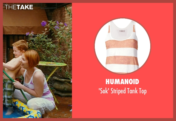 Humanoid pink top from Sex and the City seen with Cynthia Nixon (Miranda Hobbes)