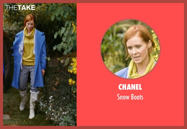 Chanel white boots from Sex and the City seen with Cynthia Nixon (Miranda Hobbes)