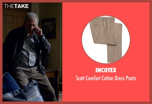 Incotex beige pants from Scandal seen with Cyrus Beene (Jeff Perry)