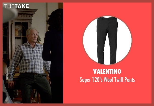 Valentino gray pants from Scandal seen with Cyrus Beene (Jeff Perry)