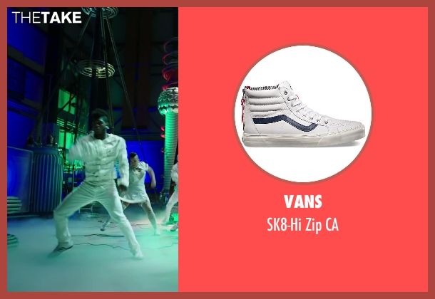 Vans white ca from Step Up: All In seen with Cyrus Spencer (Gauge)