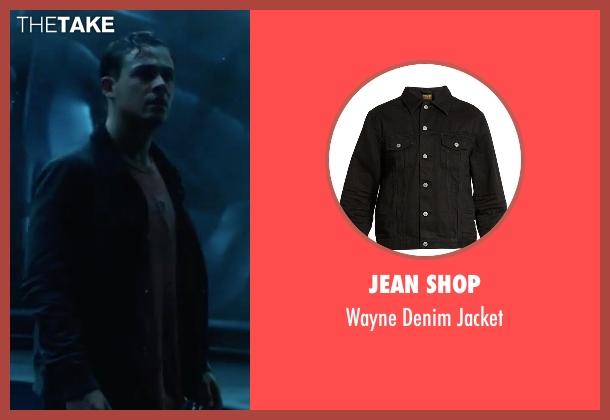 Jean Shop black jacket from Power Rangers seen with Dacre Montgomery (Jason Lee Scott / Red Ranger)