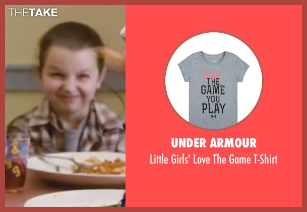 Under Armour gray t-shirt from Little Fockers seen with Daisy Tahan (Samantha Focker)