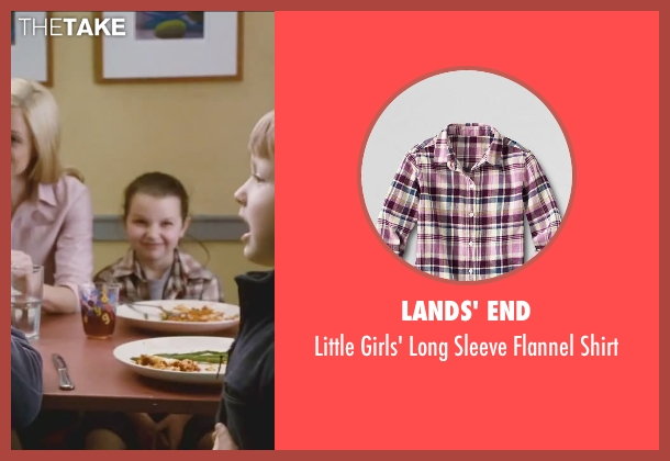 Lands' End red shirt from Little Fockers seen with Daisy Tahan (Samantha Focker)