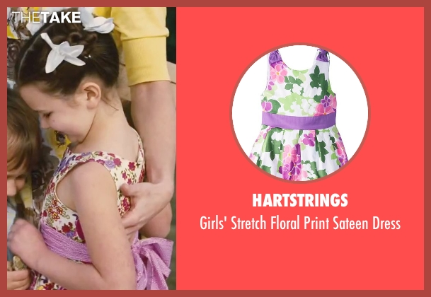 Hartstrings white dress from Little Fockers seen with Daisy Tahan (Samantha Focker)