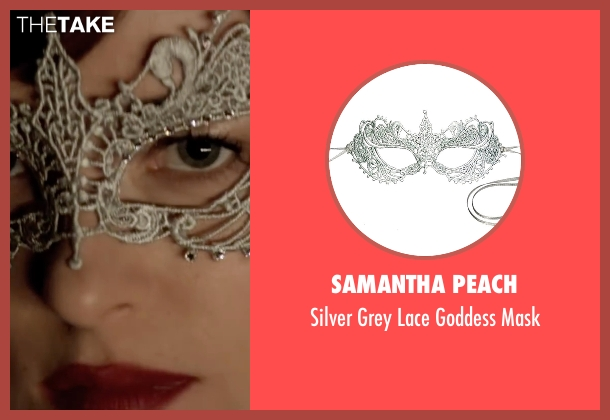 Samantha Peach  mask from Fifty Shades Darker seen with Dakota Johnson (Anastasia Steele)