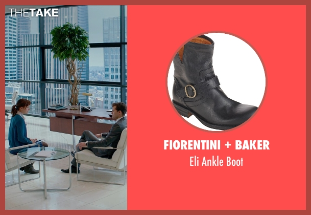Fiorentini + Baker black boot from Fifty Shades of Grey seen with Dakota Johnson (Anastasia Steele)