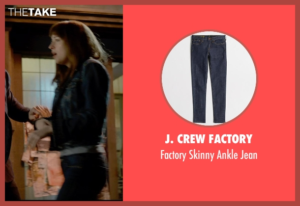 J. Crew Factory blue jean from Fifty Shades of Grey seen with Dakota Johnson (Anastasia Steele)
