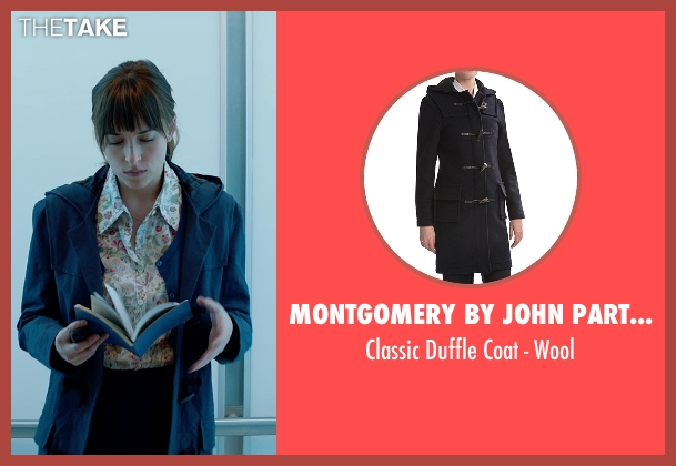 Montgomery by John Partridge blue wool from Fifty Shades of Grey seen with Dakota Johnson (Anastasia Steele)