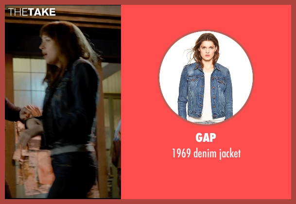 Gap gray jacket from Fifty Shades of Grey seen with Dakota Johnson (Anastasia Steele)