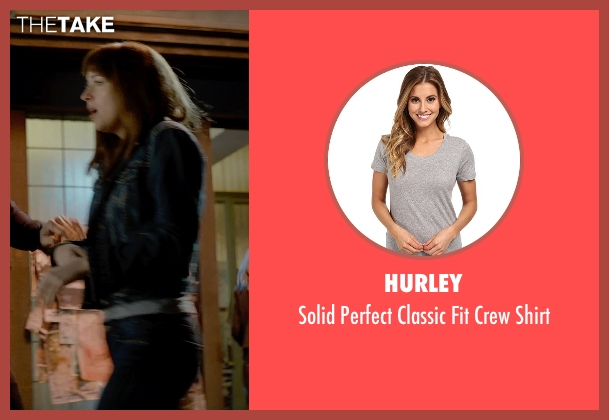 Hurley gray shirt from Fifty Shades of Grey seen with Dakota Johnson (Anastasia Steele)