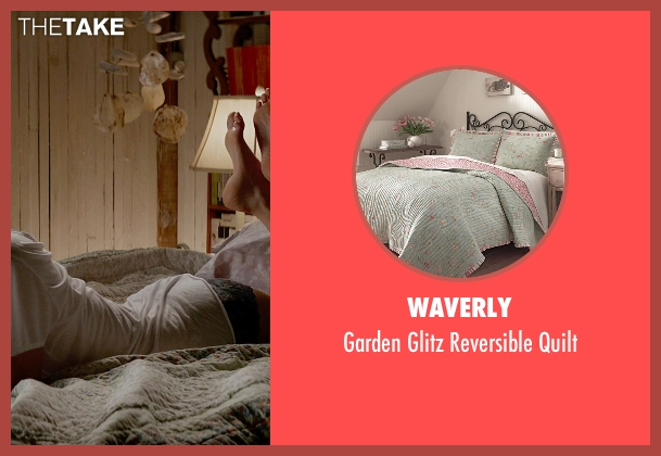 Waverly quilt from Fifty Shades of Grey seen with Dakota Johnson (Anastasia Steele)