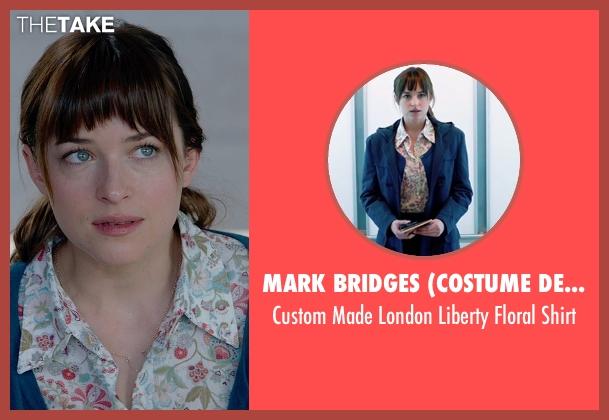 Mark Bridges (Costume Designer) shirt from Fifty Shades of Grey seen with Dakota Johnson (Anastasia Steele)