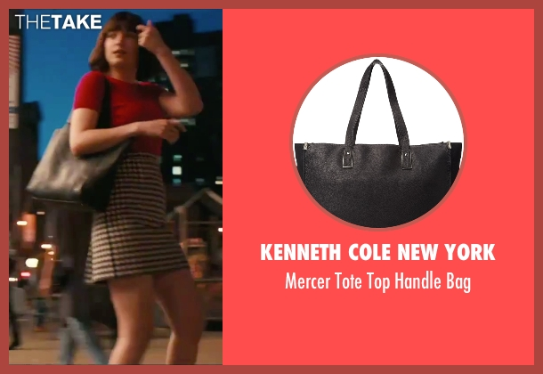 Kenneth Cole New York black bag from How To Be Single seen with Dakota Johnson (Alice)