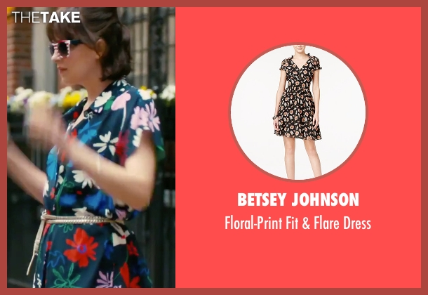 Betsey Johnson  black dress from How To Be Single seen with Dakota Johnson (Alice)