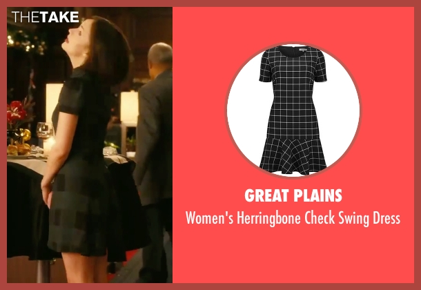 Great Plains black dress from How To Be Single seen with Dakota Johnson (Alice)