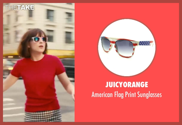 JuicyOrange white sunglasses from How To Be Single seen with Dakota Johnson (Alice)
