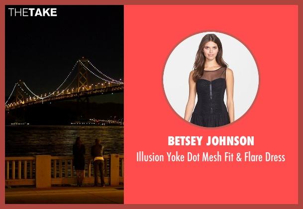 Betsey Johnson black dress from Need for Speed seen with Dakota Johnson (Anita)