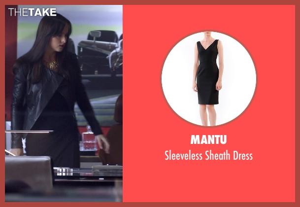 Mantu black dress from Need for Speed seen with Dakota Johnson (Anita)