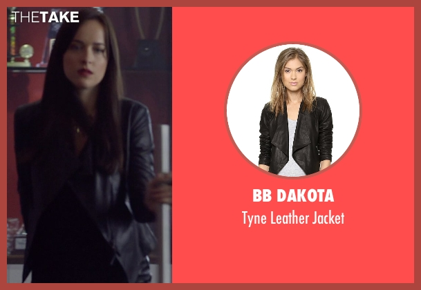 BB Dakota black jacket from Need for Speed seen with Dakota Johnson (Anita)