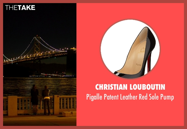 Christian Louboutin black pump from Need for Speed seen with Dakota Johnson (Anita)