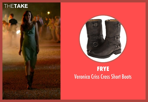 Frye brown boots from Need for Speed seen with Dakota Johnson (Anita)