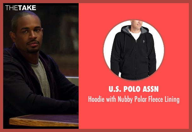 U.S. Polo Assn black lining from Let's Be Cops seen with Damon Wayans Jr. (Justin)