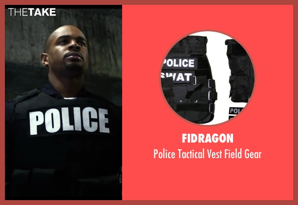 Fidragon gear from Let's Be Cops seen with Damon Wayans Jr. (Justin)