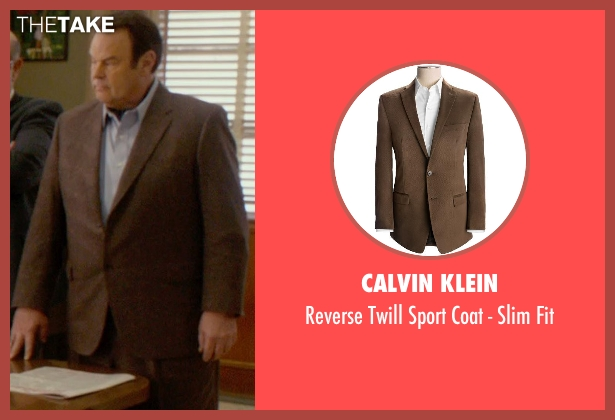 Calvin Klein brown fit from Get On Up seen with Dan Aykroyd (Ben Bart)