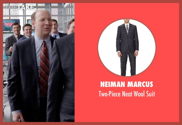 Neiman Marcus blue suit from Get Hard seen with Dan Bakkedahl (Rick)
