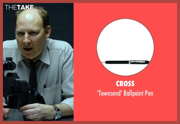 Cross pen from Hitman: Agent 47 seen with Dan Bakkedahl (Unknown Character)