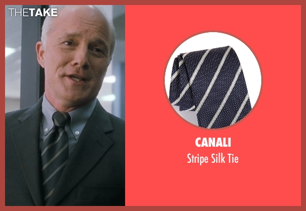 Canali blue tie from Crazy, Stupid, Love. seen with Dan Butler (Cal's Boss)
